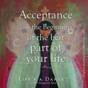 acceptance is the beginning